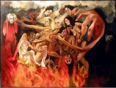 церковь,чистилище,смерть,человек,жизнь,конец,люди,грешник,бог,сатана