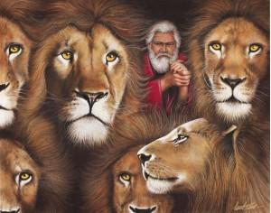 Даниил, львы, ров