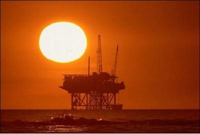Нефть, СССР, море, промысел