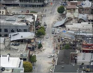 землетрясение, разрушение