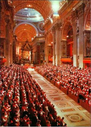 второй,ватиканский,собор,католицизм,цервковь,истина