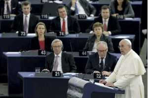 Папа в Страсбурге