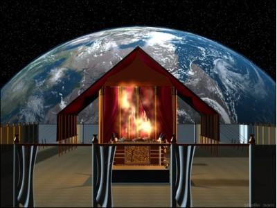 храм, бог, гора,  господь, небесный, язык, небо, святилище
