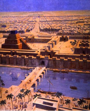 Вавилон, древний, город