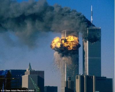 Башни, близницы, США, разрушение